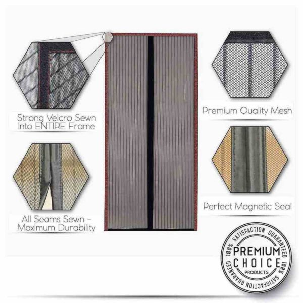 cheapest magnetic screen door uk ireland